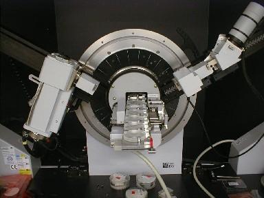 Difracción de Rayos X - Equipamiento